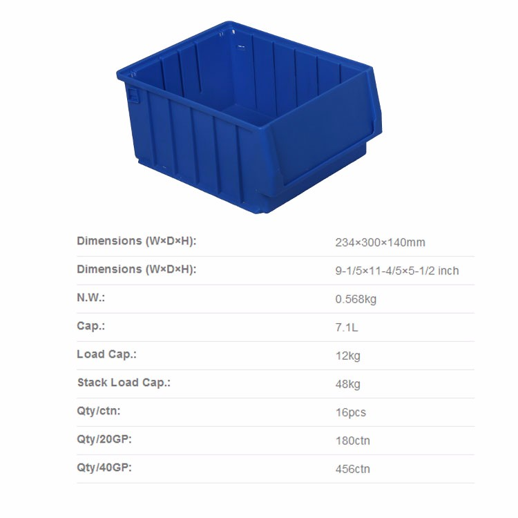 shelf plastic storage bins part trays for wire shelving system