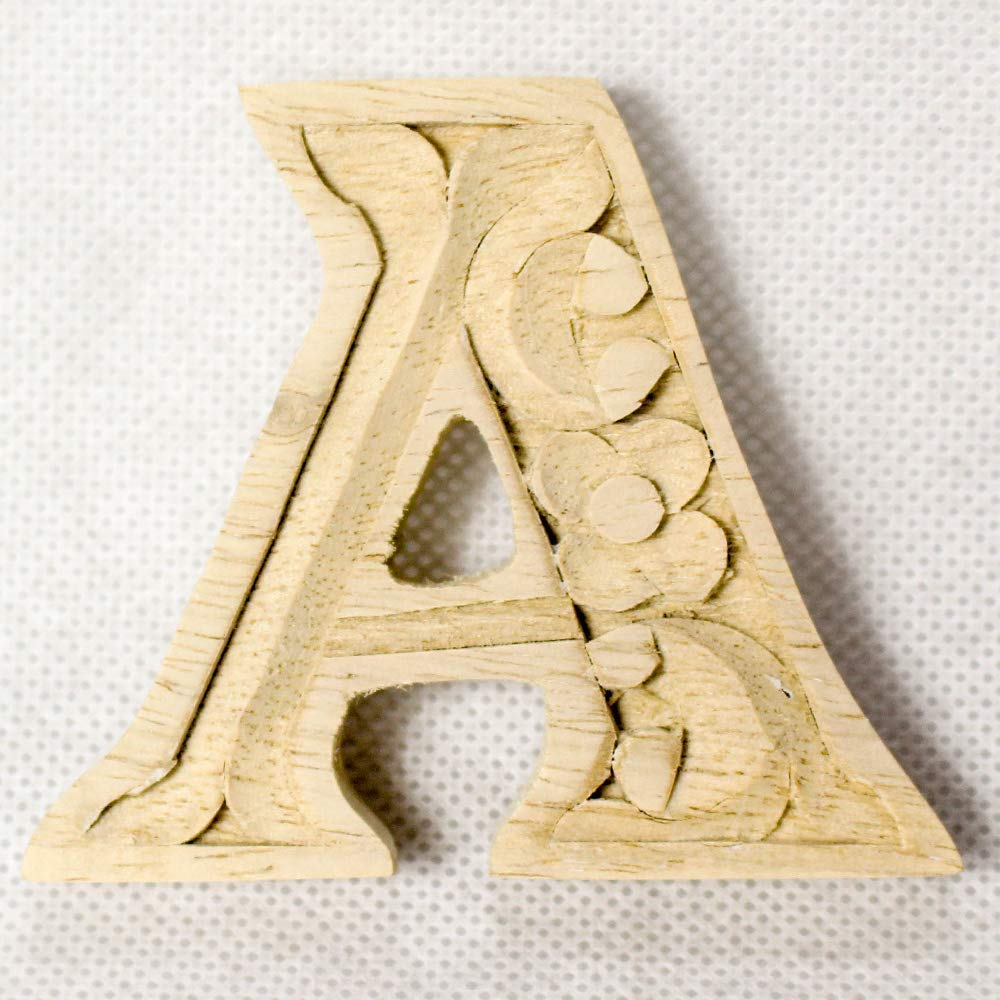 Wooden alphabet letters home decor DIY woodden letters wood carving wooden unfinished wooden letters paint unfinished wall decoration craft silhouette 6cm 9cm 15cm 2.36in 3.54in 5.9in A