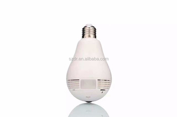 1.3mp 960p Wifi Ip Hidden Camera Light Bulb Hd Cctv Camera
