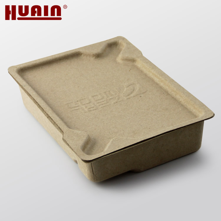 Disposable Molded Paper Pulp Box for Clothes