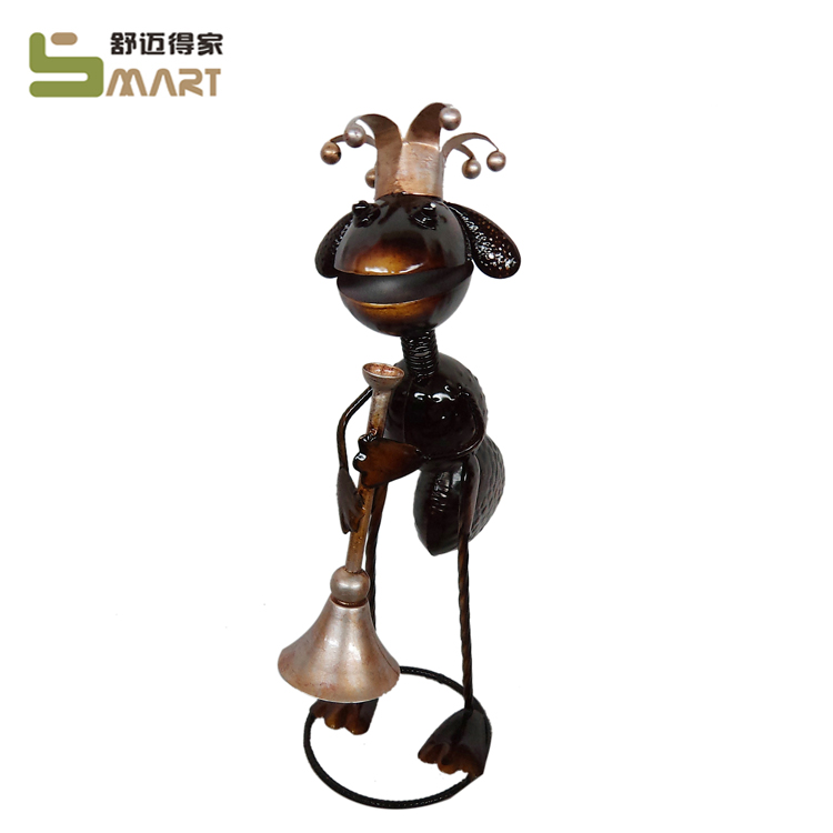 Animal Statue Ant Home Ornament Metal Garden Decoration