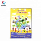 Education custom magnetic map toy puzzle set