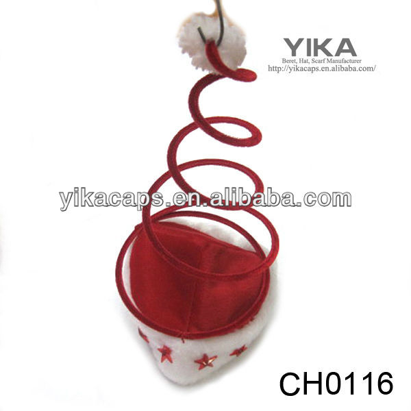 Red small wedding hats for sale