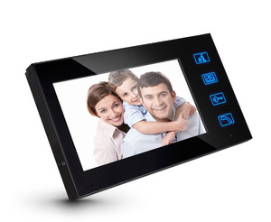 Home Security Access Control System Shenzhen Wired Video Door Phone Intercom System PST-VD704T-ID