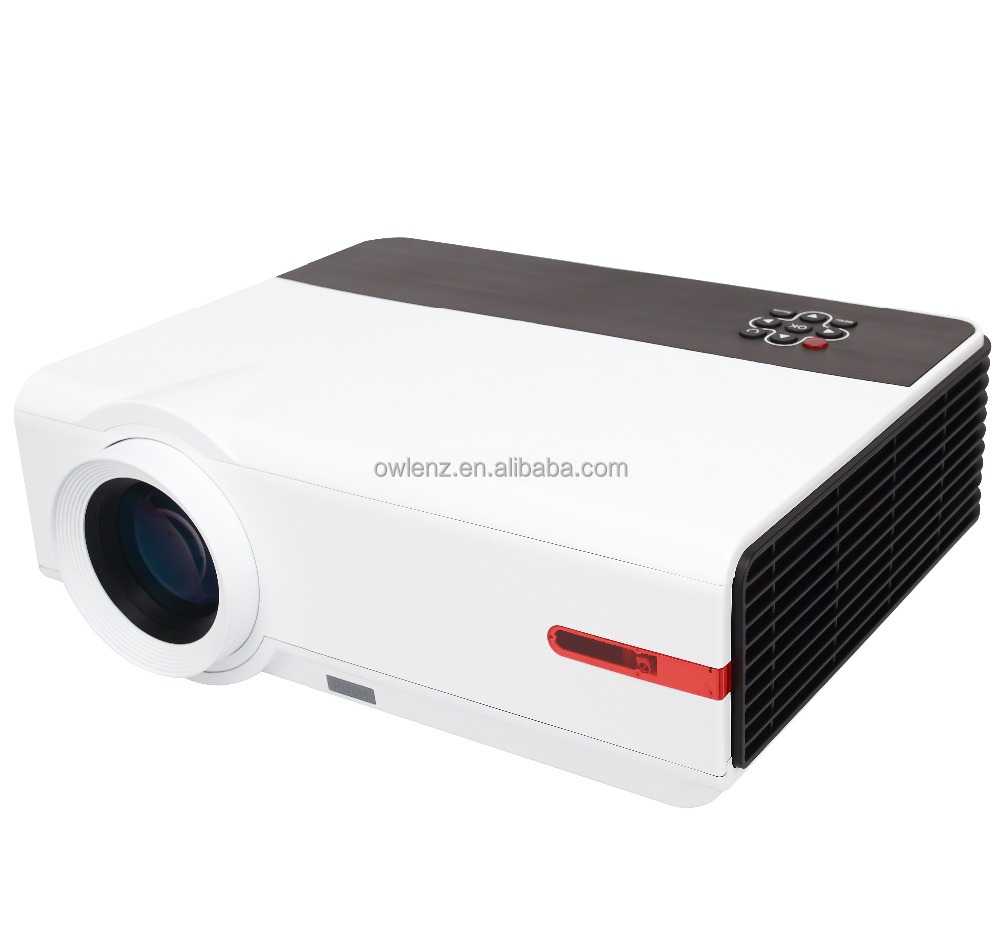 High Lumens Portable Outdoor Projector Used by Travellers in the outdoor Digital Projector RD808A