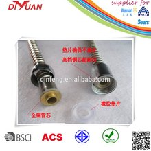 China Manufacture,stainless steel bellows/bathtub shower hoses/toilet flexible hose,plumbing hose