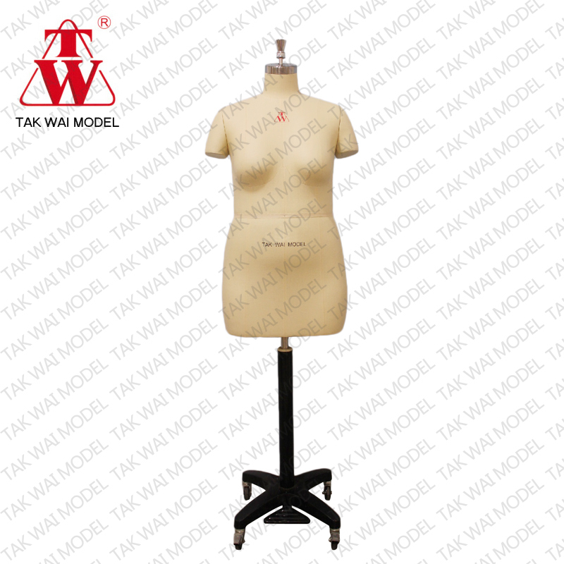 Fashionable life female size 46 half body dummy dress form mannequin doll