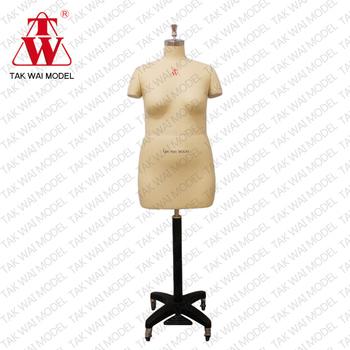 Fashionable Life Female Size 46 Half Body Dummy Dress Form Mannequin