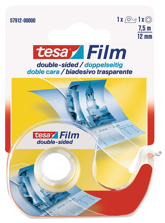 Tesa 57912-00000-00 Tesafilm Double Sided Adhesive Tape