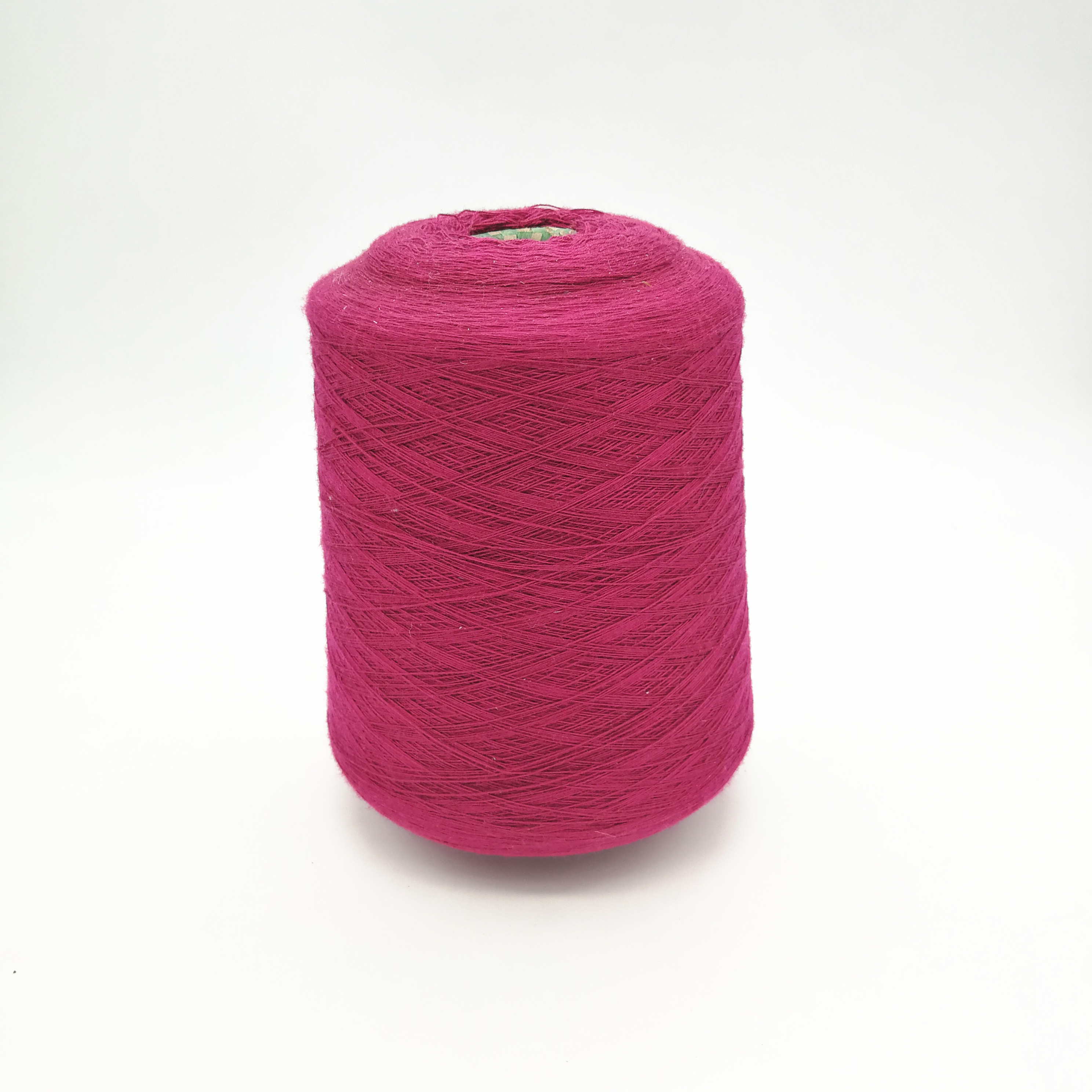 Hot sale dyed colorful viscose acrylic blended spun yarn for knitting and weaving with good price