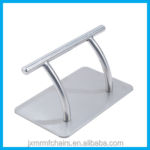 Stainless steel footrest for salon styling chairs X27