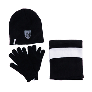 Hot Sale Optimal price Warm Set Winter Hat Scarf Beanie Gloves Sets