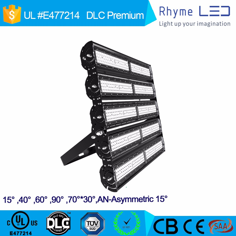 dlc ul listed approved outdoor 500w led flood light