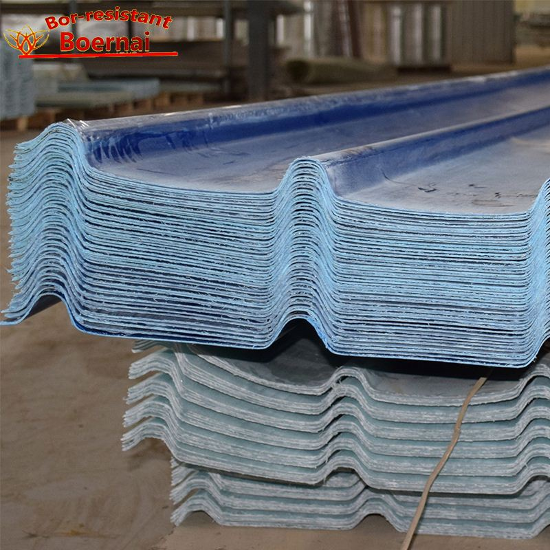 Long life service grp sheet for decoration fiberglass sheet