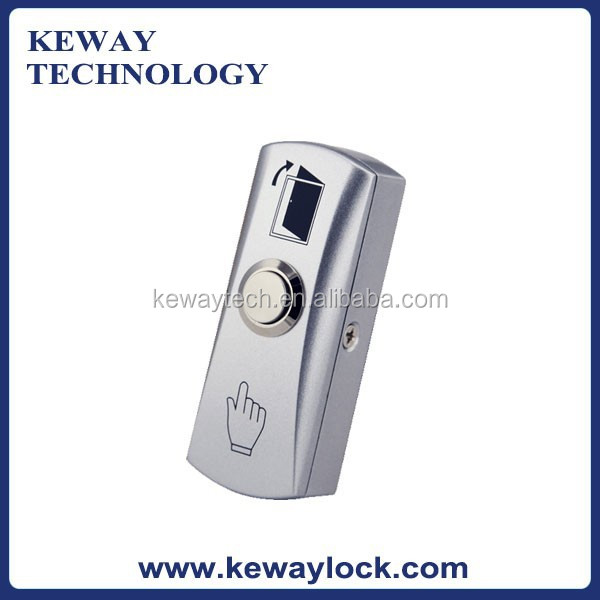 Hot Access Control Exit Button with Back Box , Door Open Button with Back Cover