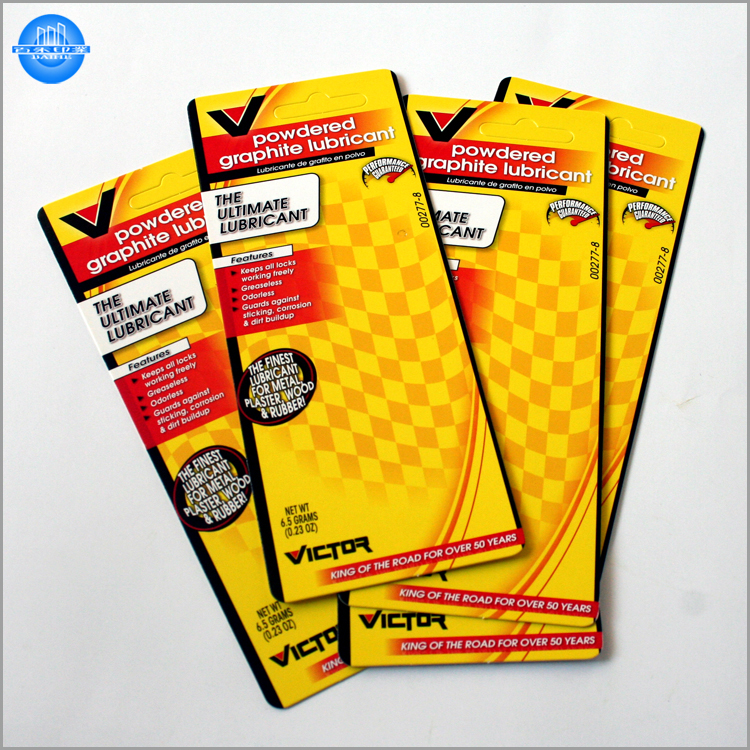Factory custom printing paper product insert card