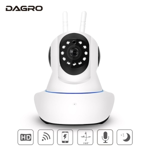 New year promotion home security Pan / Tilt / Zoom dual antenna voice intercom AP Hotspot wireless wifi cctv camera