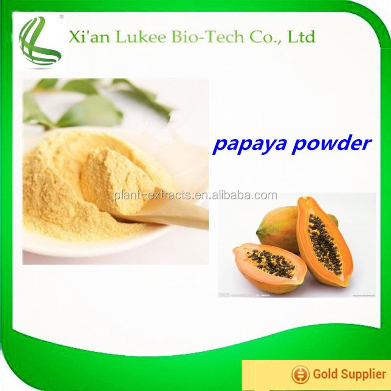 100% natural Fermented papaya powder extract/Papaya Fruit Powder /red lady papaya