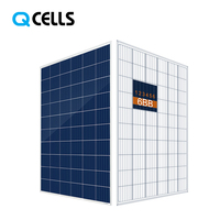Tier 1 Hanwha Q-cells PV 270w 275w solar panel for solar power project