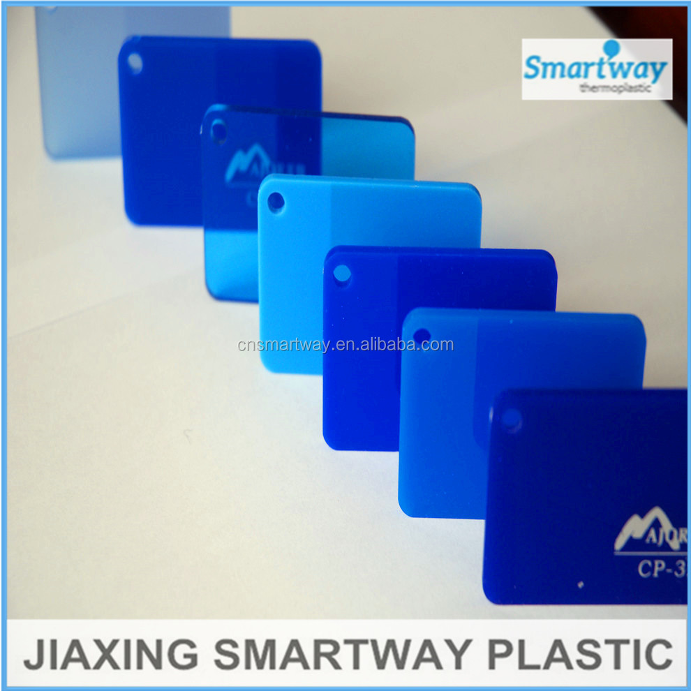wholesale heat resistant 3mm color clear plastic cast acrylic sheet price