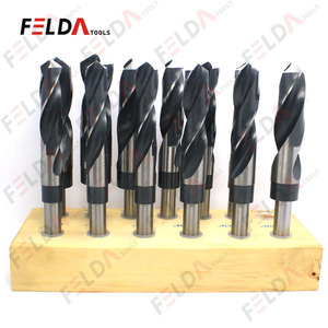 High Speed Steel Twist Drill Bits Ground Flute Black Oxide Blacksmith Drill Bits