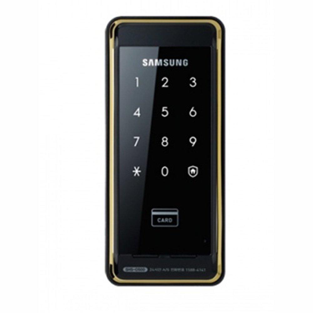 Samsung SHS-D500 Digital Door Lock Luxury Gold&Black + 2pcs of Key Tags