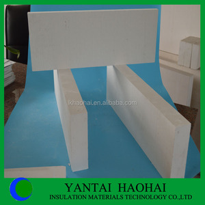 high strength light weight heat thermal insulation materials/panels/board fireproof calcium silicate pipe of 650 degree