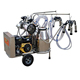 Gasoline engine and electric vacuum pump dairy goat milkIng equipment