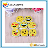 Popular QQ emoji designs zipper metal tin round coin purse
