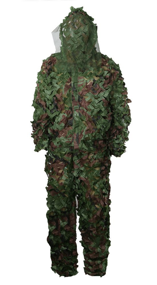 08bdf1cc3cabe Zicac Outdoor Camo Ghillie Suit 3D Leafy Camouflage Clothing Jungle Woodland  Hunting