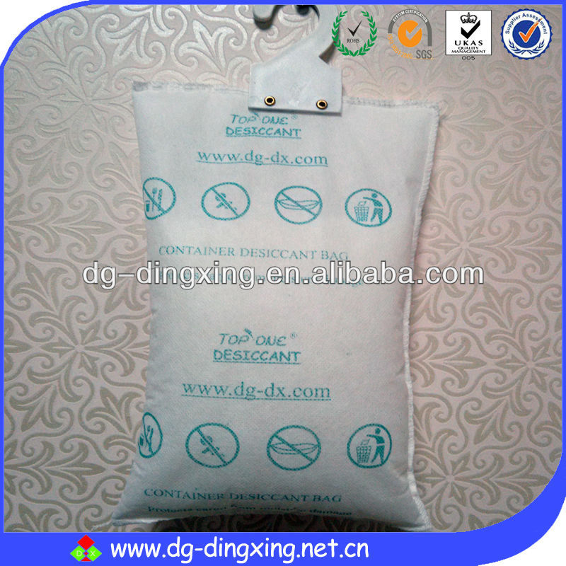 500Gram & 1KG silica gel container desiccant dry pole with hanger