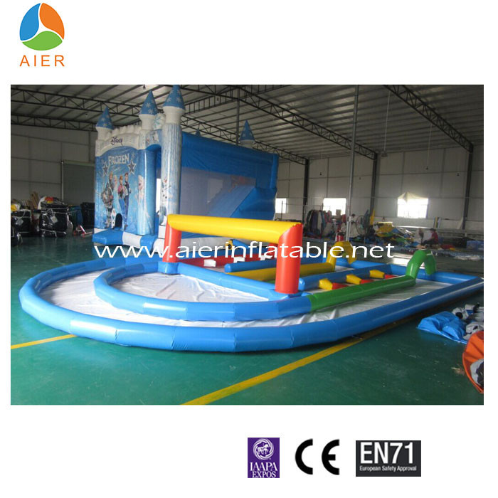 Mini RC cars inflatable track,inflatable runway