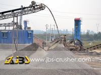Fluorite concrete recycling from China
