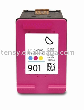 Refillable ink cartridge of 901 for HP