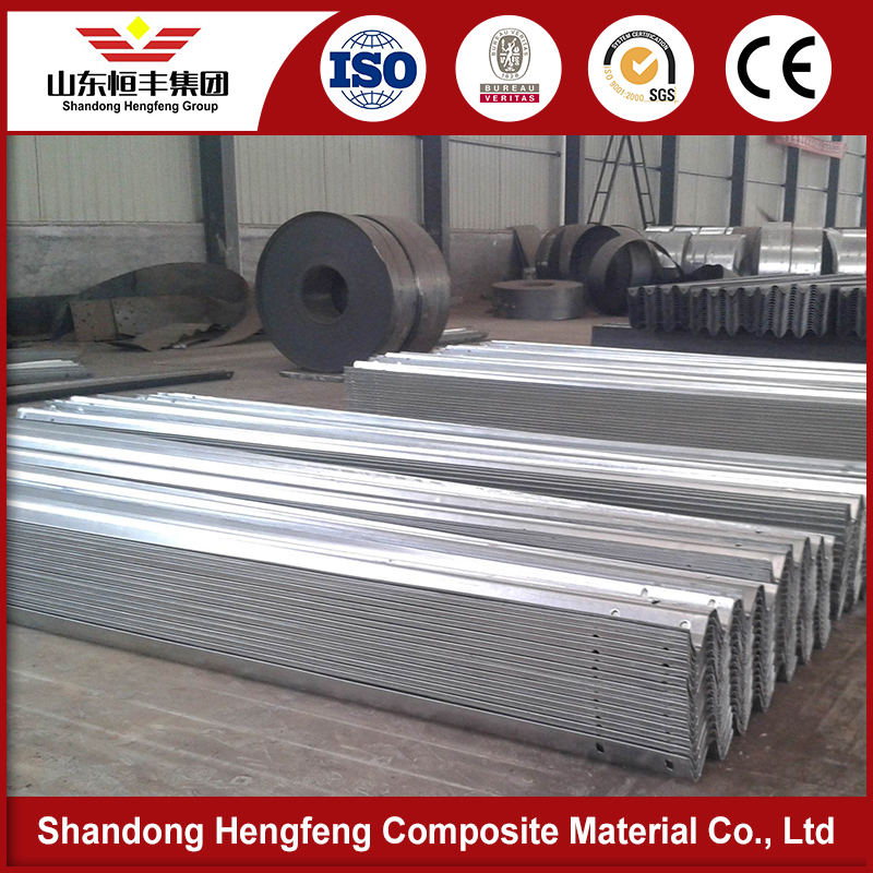 hot dipped galvanized CE standard w beam guard rail ends