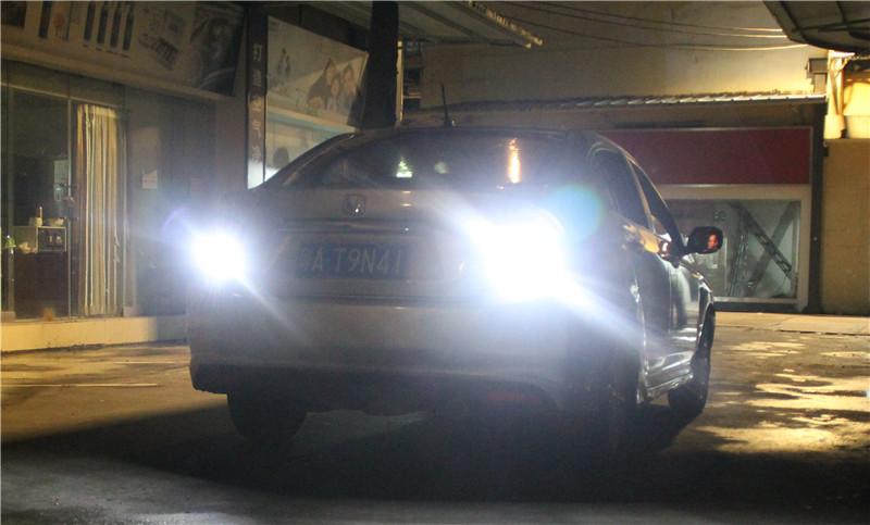 dc86da7686661f 2X 1156 Ba15s Bau15s LED Car Front  Tail Turm Signal Light Reverse Parking  Light Bulb DRL White Amber - us5