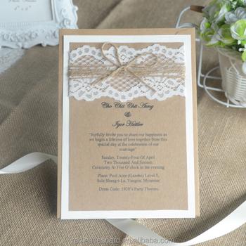 Popular Laser Cut Paper Wholesale Wedding Favors Beach Wedding