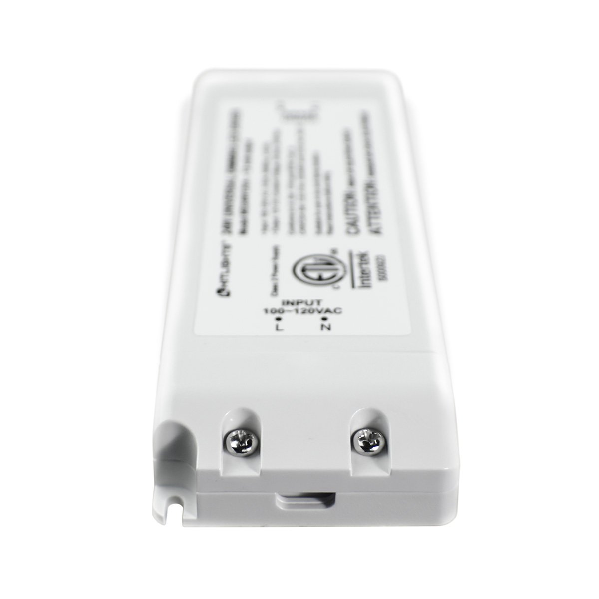 HitLights 300 Watt Dimmable Driver, Magnetic LED Driver - 110V AC-24V DC Transformer. Made in The USA. Compatible with Lutron and Leviton for LED Strip Lights, Constant Voltage LED Products