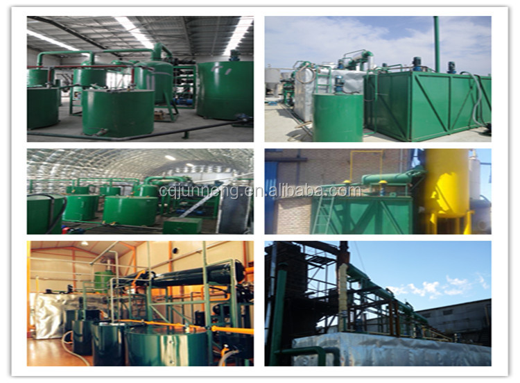 ZSA-10 Waste Oil Recycle Plant To Get Base Oil