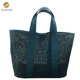 2018 PU Laser Cut Fashion Vintage Women Tote Bag in Hollow Design