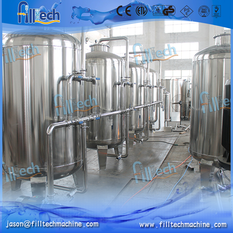 Automatic 7T American technology RO water treatment plant prices