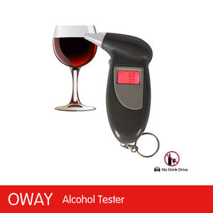 2013 famous with low price drive safety digital alcohol tester