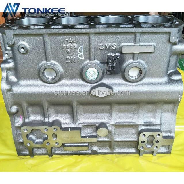 Original new 4TNE98 cylinder block & engine cylinder body fit for hydraulic excavator