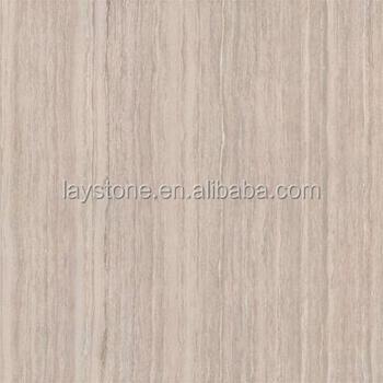 Beautiful White Wood Texture Marble Slab Floor Tiles