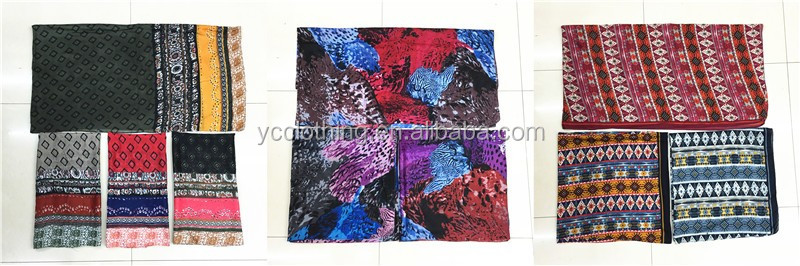 aztec design printing scarf women wholesale 2017