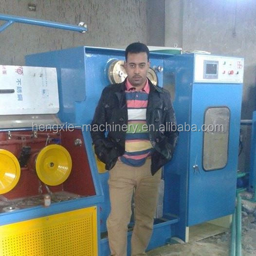 fine wire continuous producing drawing machine with online annealer Copper price