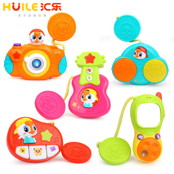 Huile 3111 Musical Stroller Toy wholesale toy from china baby musical toy with ASTM