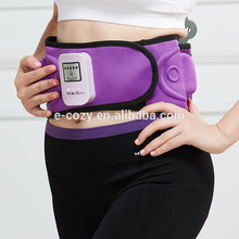 Manufacturer supply electronic heat Vibration Slimming Belt ab massage belt