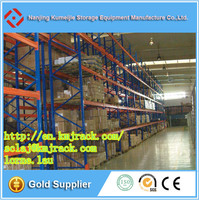 Warehouse Metal Rack And Shelves For Pallet Storage