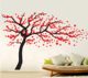 Hot selling large size beauty full color decals self adhesive vinyl family tree DIY home decorative wall stickers decorations